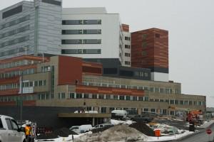 La campus Glen du CUSM, en janvier 2014